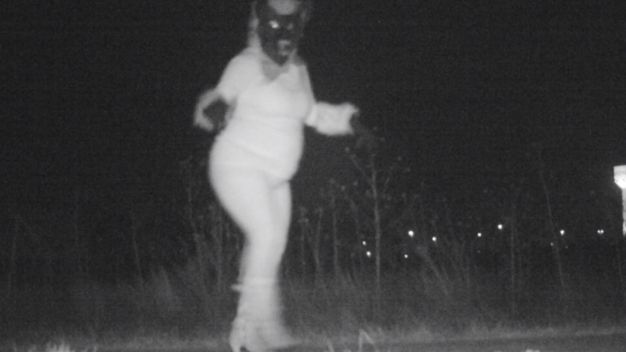 Werewolf, Gorilla And Santa All Caught on Trail Camera