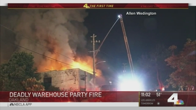 New Video Shows Moments Before Warehouse Party Fire