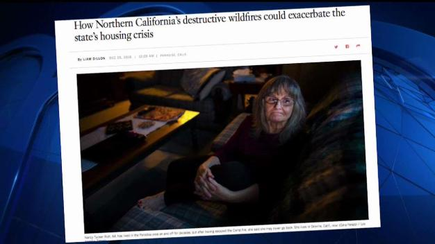 NewsConference: Wildfires Impact Housing Crisis