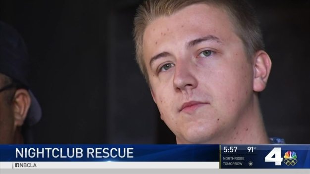 Man Meets Rescuers Who Saved His Life