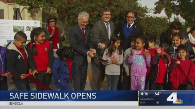 North Hollywood Elementary Students Get Safer Path to School