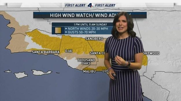First Alert Forecast: High Wind Advisory