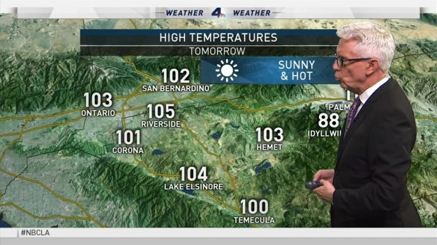 PM Forecast: Cooling Starts Thursday