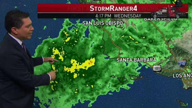 PM Forecast: Powerful Spring Storm Hits SoCal