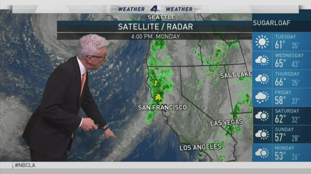 PM Forecast: Wild Wet Weather in SoCal