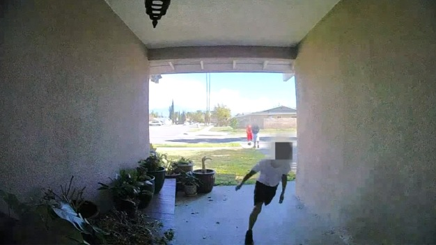 3 Children Swipe Package Off Porch of Loma Linda Home