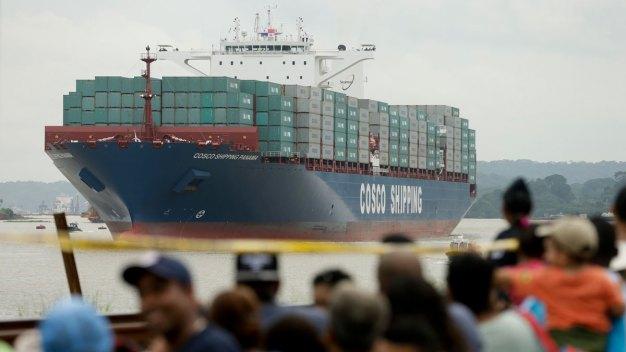 Panama Canal Opens $5B Locks