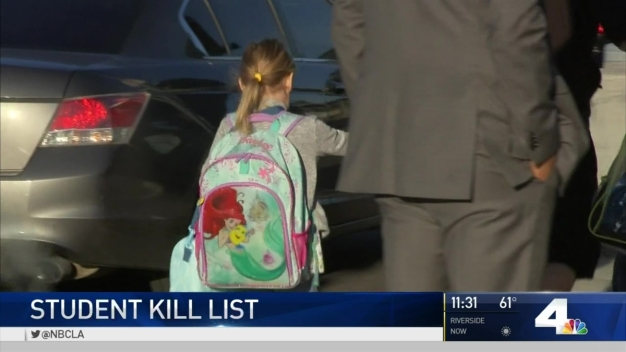 Parents Concerned Over Student 'Kill List' at School