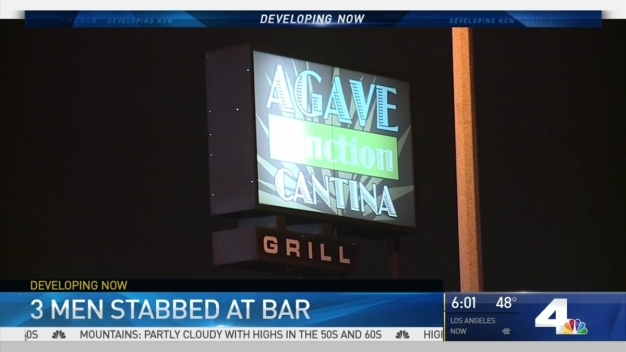 Authorities Search for Man Who Stabbed 3 at Bar