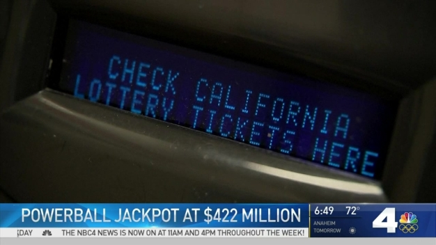 Powerball Jackpot Soars to $422 Million