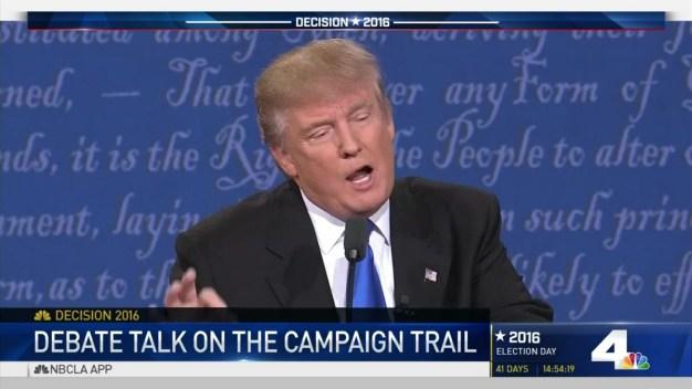 Presidential Debate Main Takeaways
