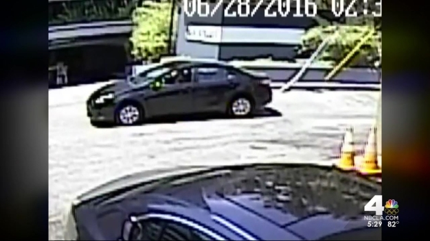 Man Steals Wallet From Car in Act Caught on Camera