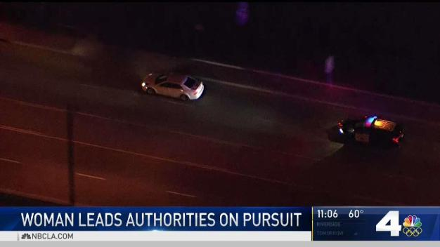 Pursuit Ensues After Woman Violates Restraining Order