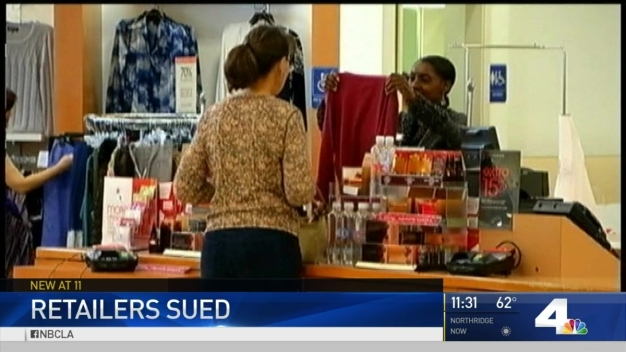 Retailers Sued Over Deceptive Pricing