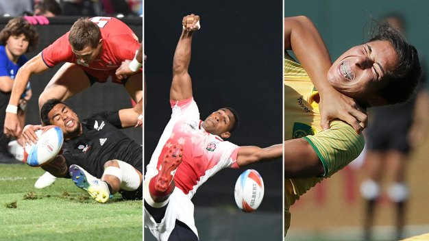 PHOTOS: The Best Faces of 2018 Rugby World Cup Sevens