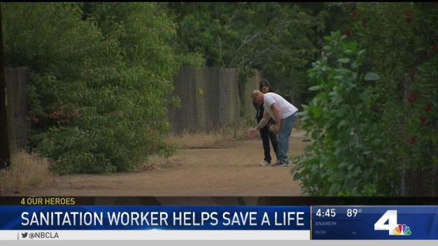 Sanitation Worker Hailed for Saving Boy in Sewer