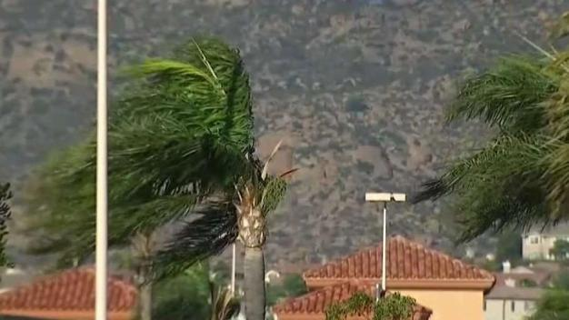 Strongest Winds of the Season Blast Southern California