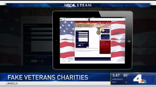 Veteran Charity Scam Running Rampant