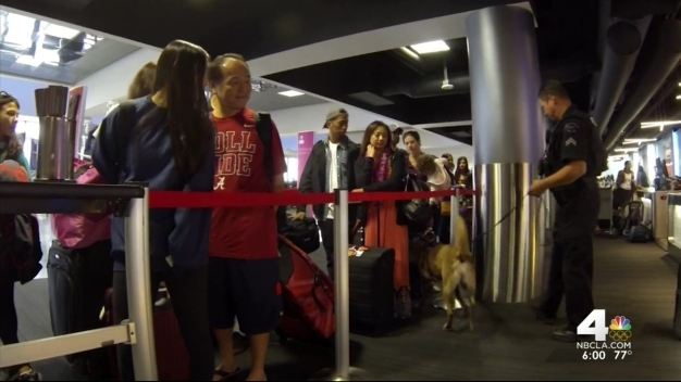 Security Upped As Travelers Flock to LAX