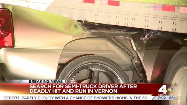 Semi-Truck Driver Sought After Deadly Crash
