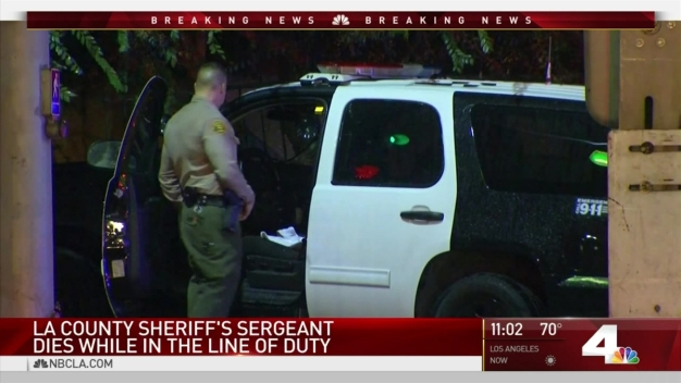 Sheriff's Department Mourns Sergeant