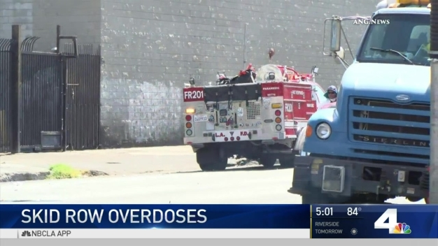More Skid Row Overdoses