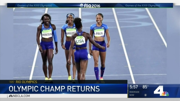 SoCal Olympics Star Allyson Felix Returns