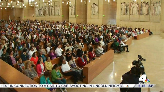 SoCal Residents Observe Ash Wednesday