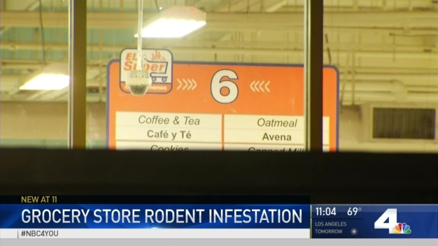 Supermarket Hit With Health Violations