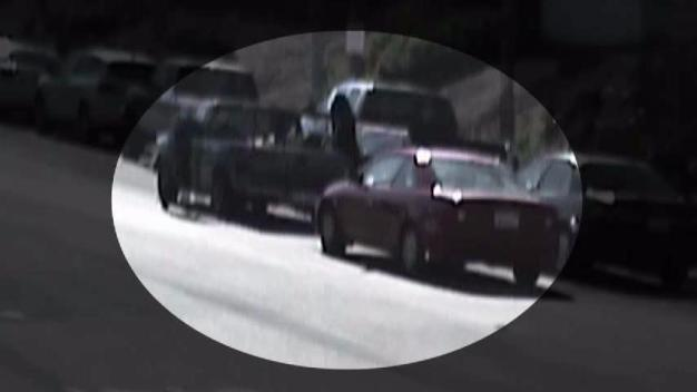 Thieves Caught on Camera Stealing Lawn Equipment from Employee's Truck