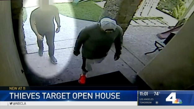 Thieves Target Sherman Oaks Open House