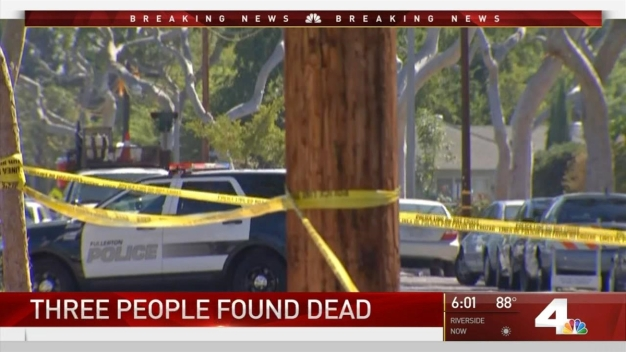 Three Bodies Found in Fullerton Home