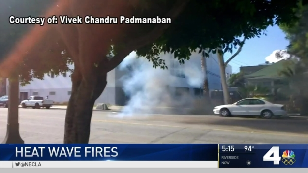 Transformer Fires Amid Heat Wave
