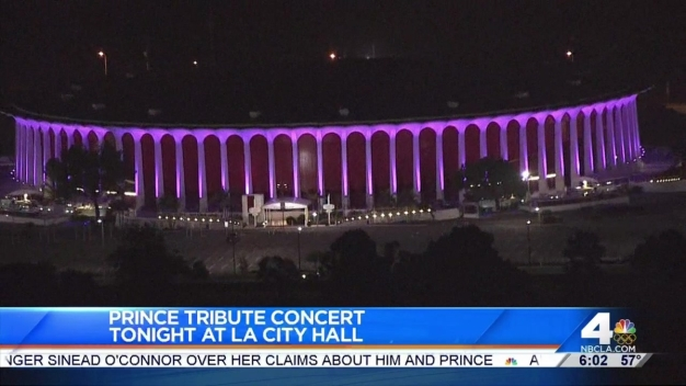 Tribute Concert for Prince to be Held at LA City Hall