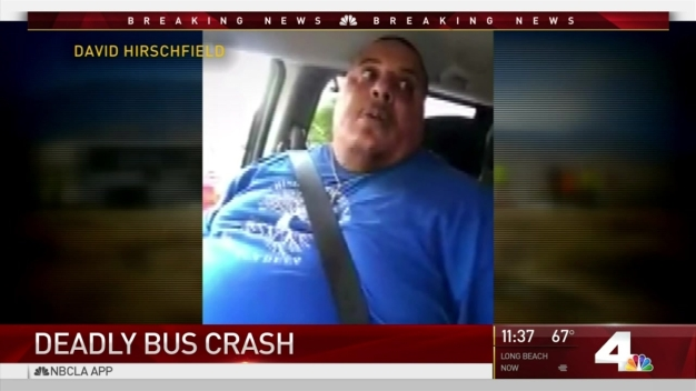 Truck Driver Grateful to Be Alive After Deadly Tour Bus Crash