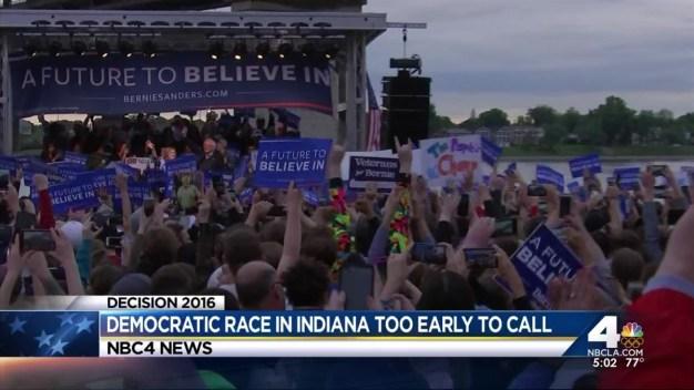 Trump Wins Indiana