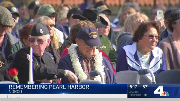 Veterans Remember Pearl Harbor on 75th Anniversary