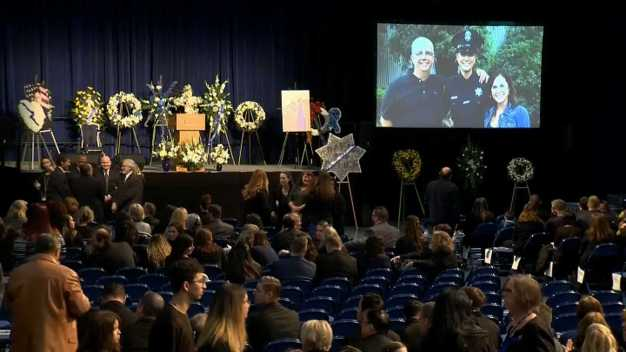Thousands Expected at Memorial for Slain Calif. Officer, 22