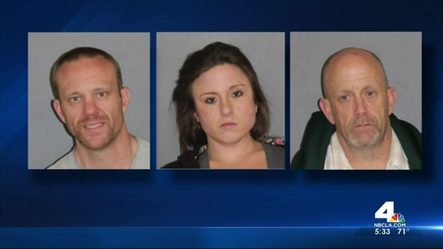 Custodians Help Nab Alleged Trio of Burglars
