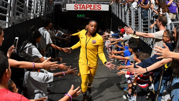 WNBA Suspends Sparks Riquna Williams 10 Games for Domestic Violence