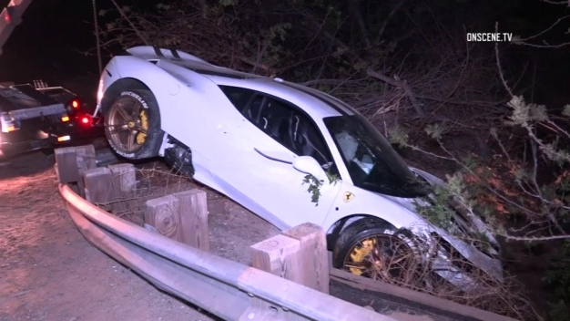 Raccoon on the Road Blamed for Ferrari Crash