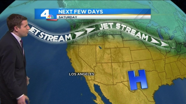 Slightly Cooler Temps for Most of SoCal