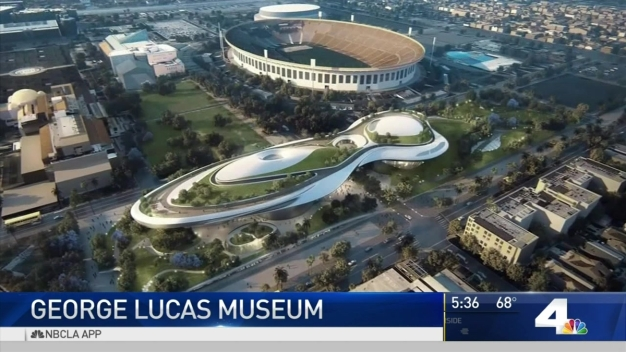 Video nbc southern california for Star wars museum california