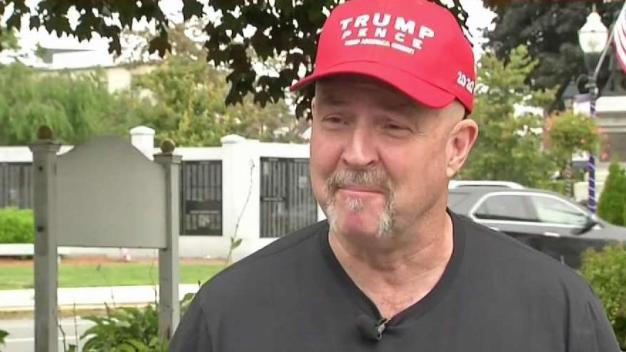 Man Trump Fat-Shamed at NH Rally Remains Loyal Supporter