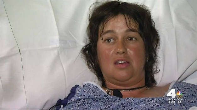 Woman Recovering After Rattlesnake Bite