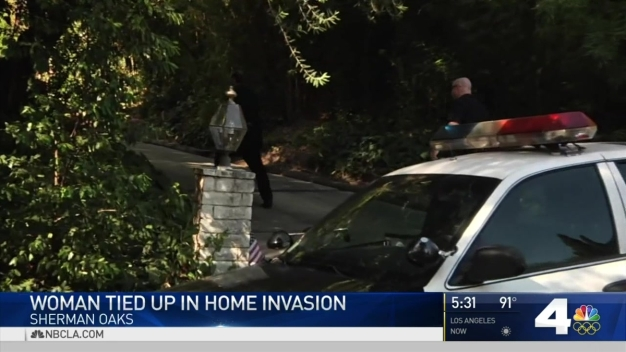 Woman Tied Up in Sherman Oaks Home Invasion