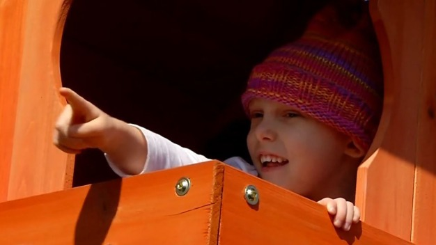 After Cancer Took Play Away Little Girl Gets it Back