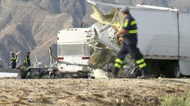 No Sign of Braking in Tour Bus Crash That Killed 13