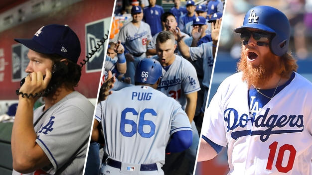 Photos: Memorable Dodger Moments From 2017