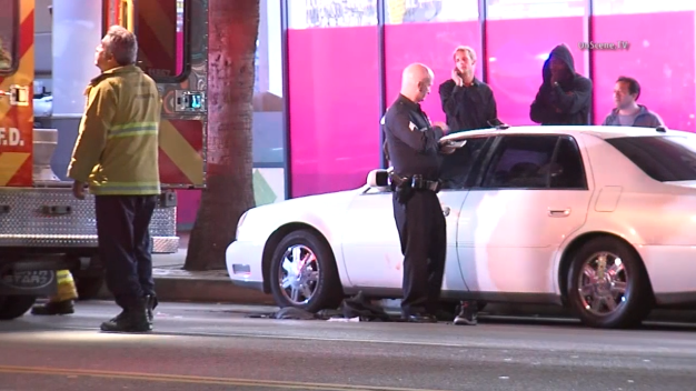 Man Critically Injured in Sunset Blvd Carjacking, Shooting